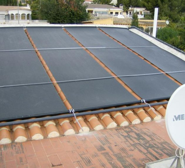 Solar Pool heating! 2990.– Euros for your 8×4 pool!